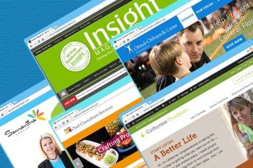 GeekCoaches Designed Websites