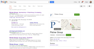 Pitcher Group Search Listing