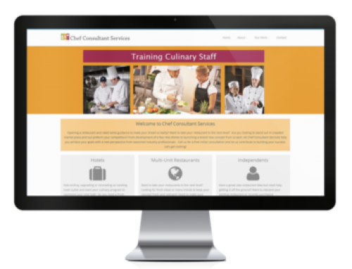 Chef Consultant Services Website