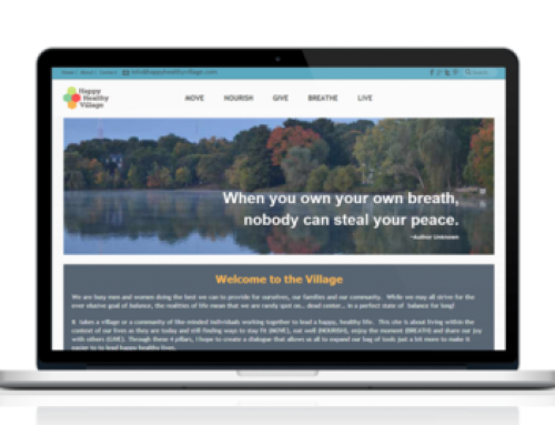 Happy Healthy Village Website