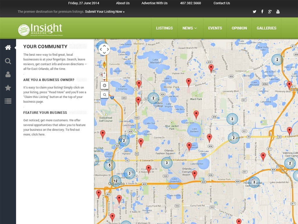 Insight East Orlando Business Directory