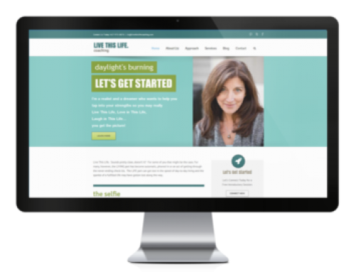 Live This Life Coaching Website
