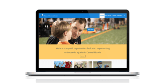 Orlando Ortho Foundation Website
