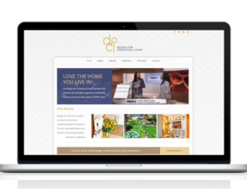 Design for Conscious Living Website