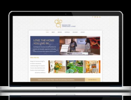 Design for Conscious Living Website