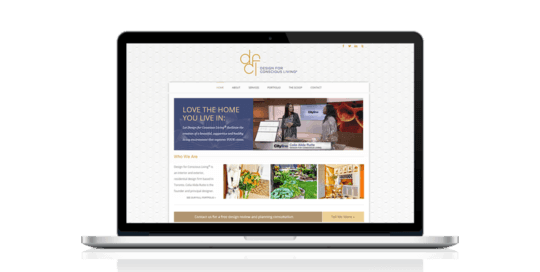 Design for Conscious Living Website by GeekCoaches
