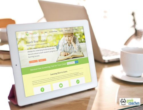 LearnAbility Educational Therapy Website